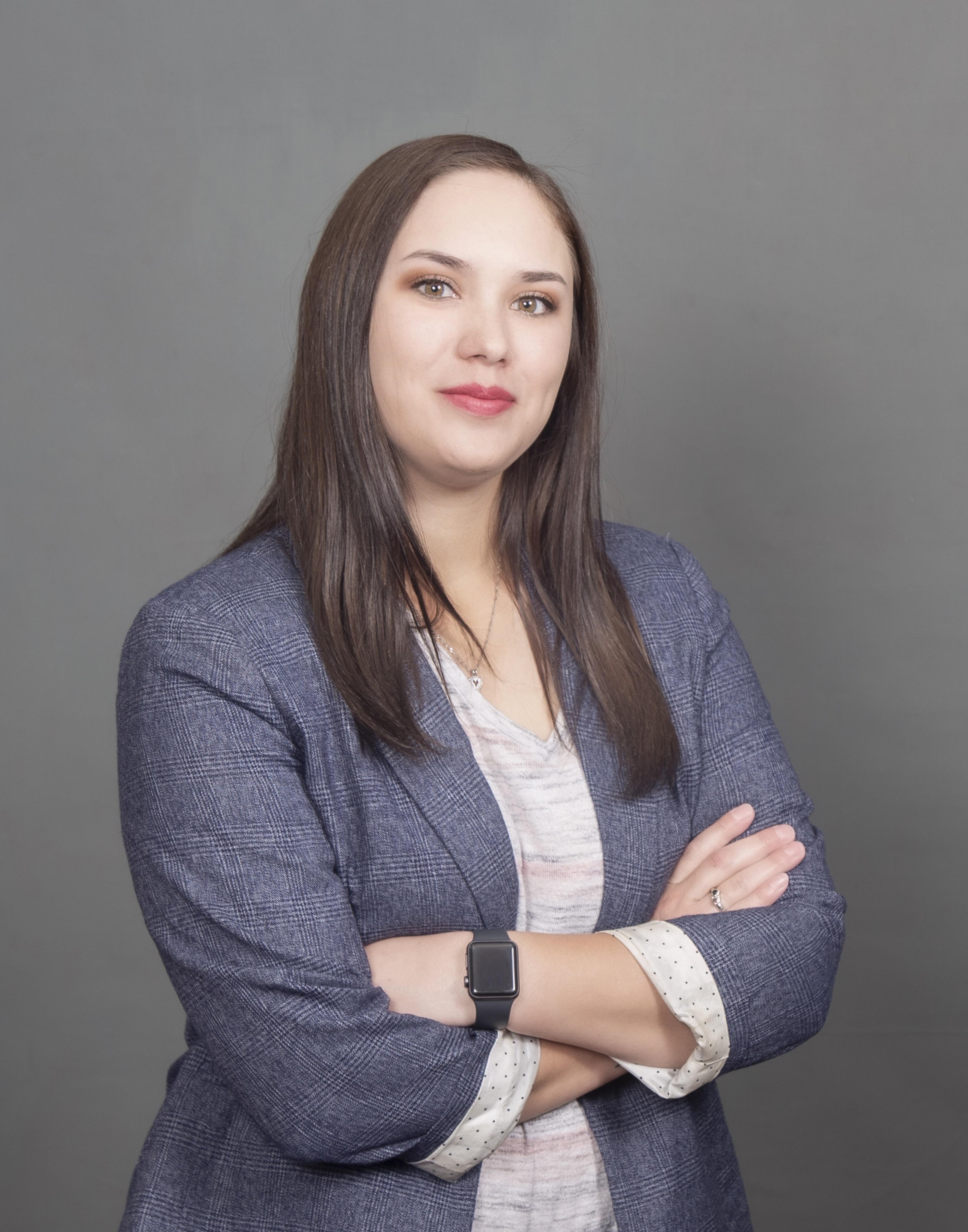 picture of female staff member (Jordan Baneulos)
